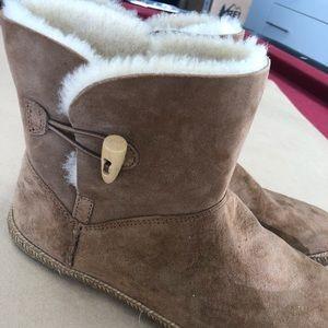 UGG Shoes - Ugg booties tan size 10